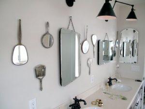 Spejle, masser af spejle!