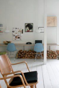 Kontor i stuen – på den fede måde!