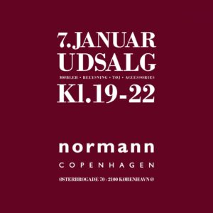 Invitation til Normann Copenhagen