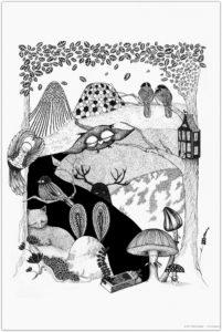 Deep Woods – Dagens Poster
