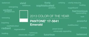 Farveinspiration: Emerald – Pantone Colour of the Year 2013