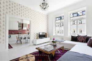 tapet-vintage-stue-alrum-indretning-bolig