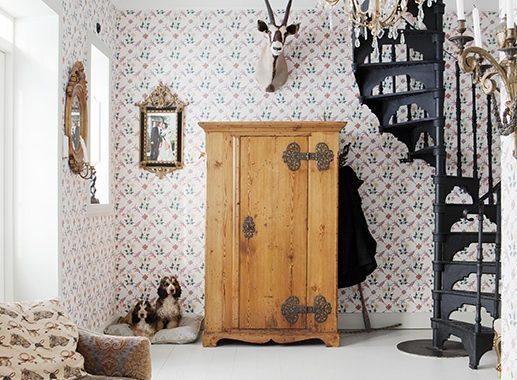tapet-vintage-stemning-indretnig-boligindretning-wallpaper-tapet