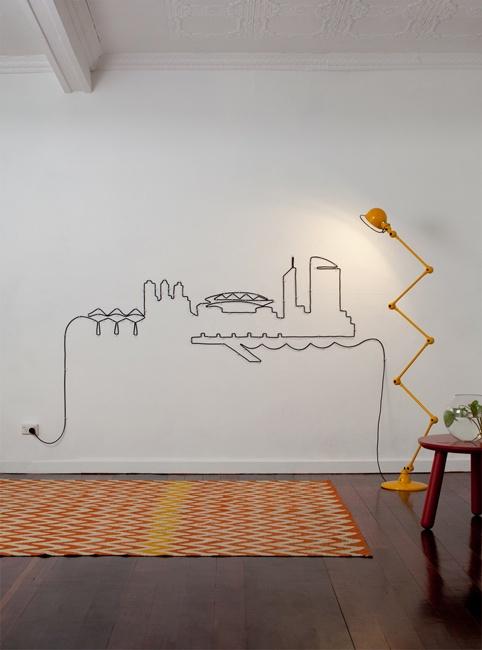 detalje-ledning-jielde-lampe-gul-interior-design