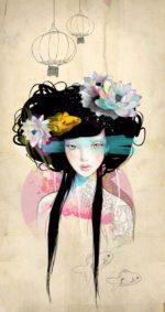 Nenufar Girl – Dagens Poster