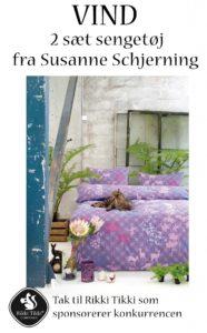 VIND lækkert sengetøj fra Susanne Schjerning