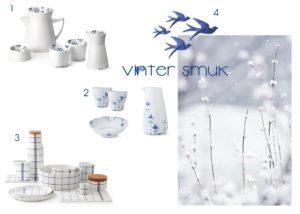 Vintersmuk porcelæn