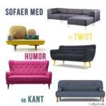 """Jagten på den nye sofa #2 – """"Sofaer med humor"""""""