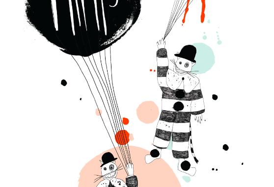 plakat-poster-print-art-kunst-mimis-circus-danish-design