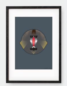 Mandril – Dagens Poster