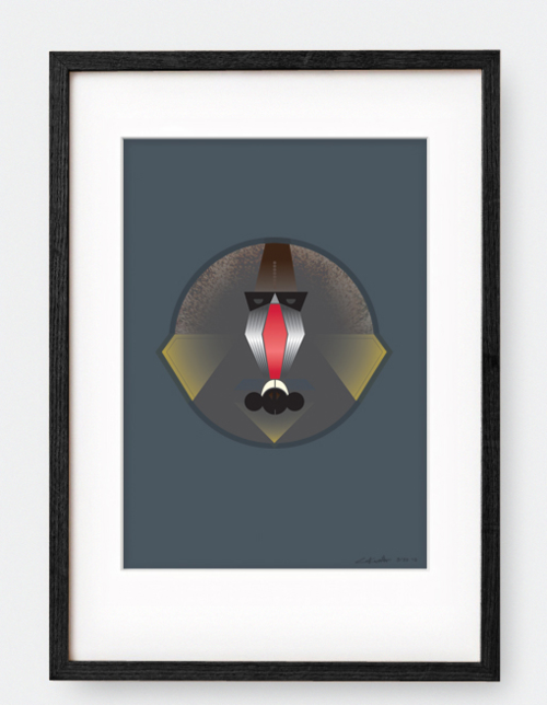 mandril-poster-plakat-indretning-interior-design-grafisk-graphic-illustration-print