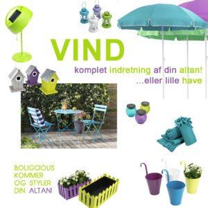 Vind møbler, blomster og styling af din altan!