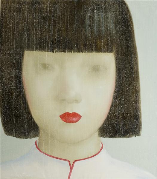 plakat-poster-art-print-asiatisk-pig-kvinde