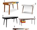 Design lækre skriveborde i alle prisklasser