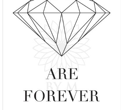 poster-plakat-diamonds-forever-print-illustration