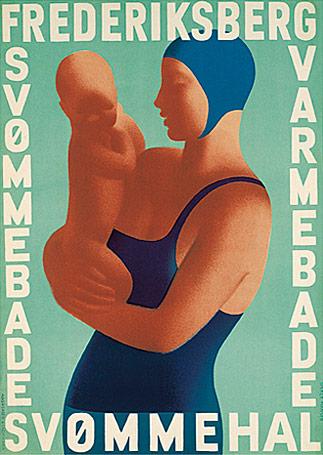 frb-mor-med-barn-plakat-poster-grafiske-design-art-kunst-frederiksberg