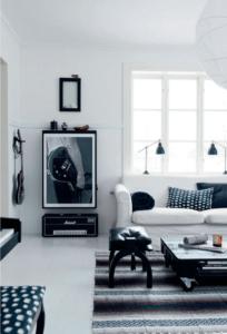 indretning-homedecor-livingroom-black-white