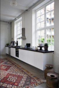 Lækker detalje i et helt moderne køkken