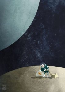 The Space Gardener – Dagens Poster