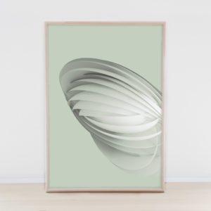 Paper Flower – Dagens Poster