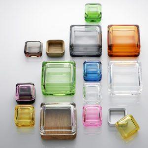 Smukke glasæsker fra Iittala