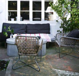 Sommerdage på terrassen