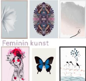 Masser af feminin kunst – Dagens Poster(s)