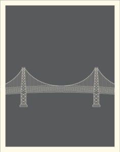 plakat-bridge-bro-grafisk-illustration-design-graphic-print-art-kunst