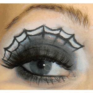 boligcious-halloween-edderkop-makeup-interior-bolig