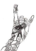 Rockhånd – Dagense Poster