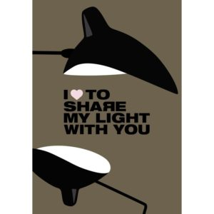 I love to Share – Dagens Poster
