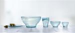 Nordlys – skønt stel i recycled glas fra Holmegaard