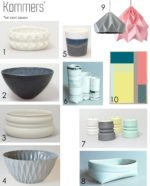 GAVEGUDIE: Porcelæn, keramik og papir