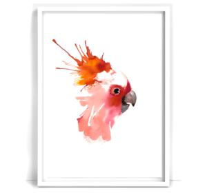 papgoje-bird-kunst-plakat-poster-gafisk-design-graphic-illustration