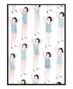 Piger i blåt – Dagens Poster