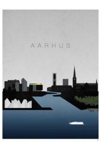 AARHUS – Dagens Poster