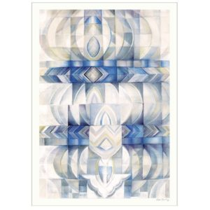 Blue Abstraction – Dagens Poster