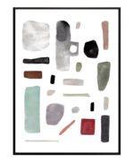 Abstrakte former – Dagens Poster