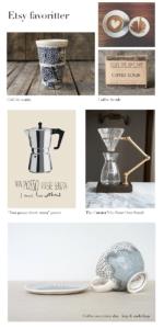 Etsy favoritter – kaffe!
