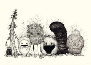 Forest Spirits – Dagens Poster