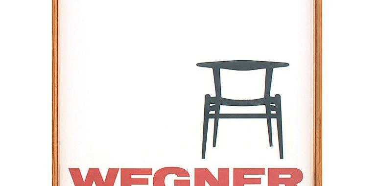 wegner-poster-plakat-stol-indretning