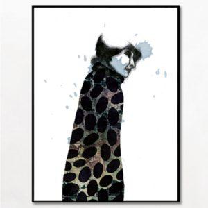 boligcious-interior-design-plakat-poster-bob-noon-karenblixen-illustration