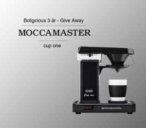 Cup One fra Moccamaster – GIVE AWAY
