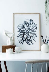 Swirling Leaves – Dagens Poster