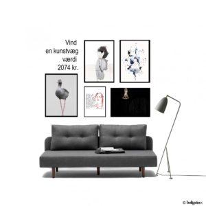 VIND en kunstvæg og bliv VIP på Finderskeepers i KBH?
