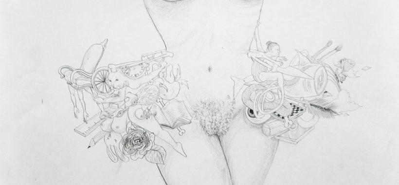 facebook-google-kunst-illustration-tegning-drawing-art-kunstner-artist-jasmin-franko-saatchi-artrebels-pussy