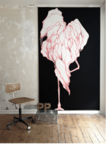 'Flamingo' Floor-to-ceiling – Dagens (big) poster