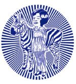REBEL PICK MONDAY: Zebra Girl In Blue Circle