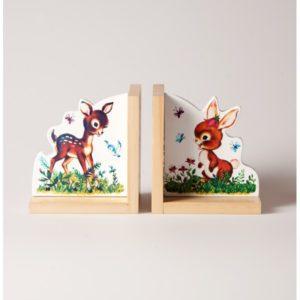 serre-livre-sass-belle-bambi-et-lapin