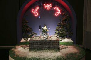 Julens borde dækket af stjernerne…